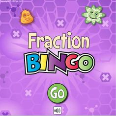 Get links to LOTS of terrific fractions games that will bring the fun back into math on this post! Fraction Bingo includes an easy version for younger students, and a hard version for more advanced learners. Includes a freebie!