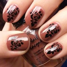 HN02-A NAIL STAMPING  #Bonitacolor #nail lacquer  #kleancolor #kleancolorpolish #kleancolors #nailstamping #nailartstamping #nailart #naildesign #naildesigner #nailatylist #nailtechnician #kleancolorbrown #kleancolor #hn02-a