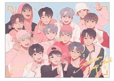 Find images and videos about Seventeen, mingyu and jeonghan on We Heart It - the app to get lost in what you love. Carat Seventeen, Seventeen Woozi, Seventeen Debut, Jeonghan, Wonwoo, Seventeen Wallpapers, Kpop Fanart, Cartoon Wallpaper, K Idols