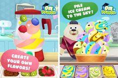 Dr. Pandas Ice Cream truck Children's App iOS Android