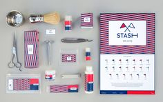 Stash - Men's Shaving Brand (Student Project) on Packaging of the World - Creative Package Design Gallery