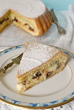 The History of Pizza in Italian Food Italian Cake, Italian Desserts, Mini Desserts, No Bake Desserts, Italian Recipes, Delicious Desserts, Dessert Recipes, Yummy Food, Sweet Pie