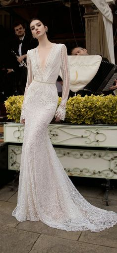 Inbal Dror 2015 Bridal Collection - Part 1 - Belle the Magazine . The Wedding Blog For The Sophisticated Bride
