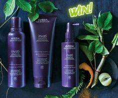Κερδίστε την ολοκληρωμένη σειρά περιποίησης μαλλιών, Aveda Ιnvati! Aveda, Shampoo, Personal Care, Bottle, Beauty, Personal Hygiene, Flask, Beauty Illustration