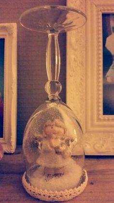 Engel in een wijnglas...