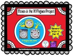 Moses & the 10 Plagues Free Project