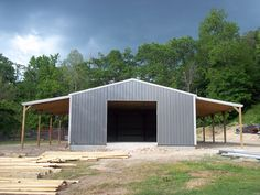 Legacy Barn Company is an industry leading post frame & pole barn builder in Oklahoma, also serving Kansas and Missouri for barns, buildings and DIY packages. Metal Shop Building, Building A Pole Barn, Steel Building Homes, Pole Barn Garage, Pole Barn Homes, Pole Barns, Metal Garage Buildings, Shop Buildings, Barn House Plans