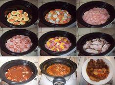 Kuřecí prsa s brambory v pomalém hrnci - fotoalba ulivatelu - Dáma.cz Ph, Crockpot, Slow Cooker, Food And Drink, Beef, Recipes, Meat, Recipies, Ripped Recipes