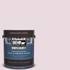 BEHR Premium Plus Ultra 1-gal. #S120-1 Wine Pairing Satin Enamel Exterior Paint