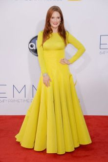Julianne Moore stood out in her Christian Dior Couture gown