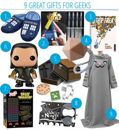 9 Great Geeky Gifts That Won't Break the Bank