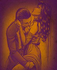 Loki and sigyn, #logyn