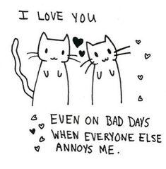 Yes, kitties always cheer me up..