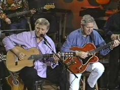 """Chet Atkins & Jerry Reed """"Muleskinner Blues"""" High Quality  Jerry Reed had a style like nobody else, one nearly impossible to duplicate. But he was a thumb picker, too."""