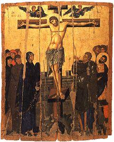 After 32 Years, Crucifixion Icon Returns To Monemvasia | MYSTAGOGY RESOURCE CENTER
