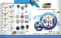 Fahad Electronics Brochure  A clear and professionally 4 page brochure template for Fahad Electronics in a very modern style.