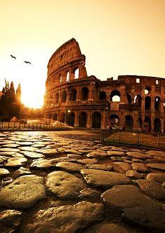 Colosseum or Coliseum,Rome, Italy: