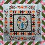 Spring Medallion:  Twisted Ribbon Border
