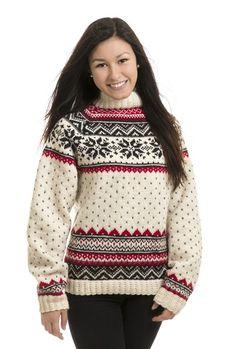 - Genser fra Viking of Norway Norwegian Style, Norwegian Knitting, Fair Isle Knitting, Sweater Knitting Patterns, Vikings, Norway, Christmas Sweaters, Knitwear, Knit Crochet