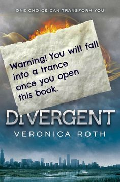 Every copy should come with this warning! This book is extremely addictive. Thank you, Veronica Roth.  The movie comes out in March. I don't think I can wait that long!