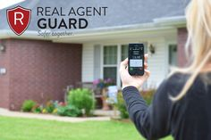 Real Agent Guard. Stay Safe when showing houses! Great for Real Estate Agents or families who just want to be safe. #RealAgentGuard #ad