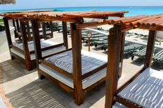 What's more comfy than a beach bed at the JW Marriott Cancun? #mexico