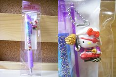 GOTOCHI HELLO KITTY Ballpoint Pen Kansuke Yamamoto SAMURAI MADE IN JAPAN NEW!