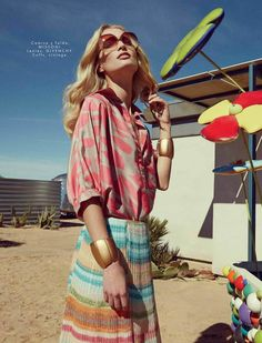 Melissa Tammerijn by Danilo Hess for Elle Mexico March 2015