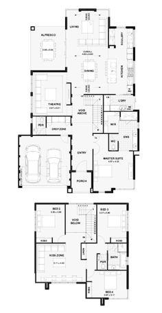 43 best reverse living house plans images on pinterest