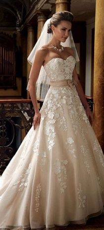 Wedding Dresses Champagne Color