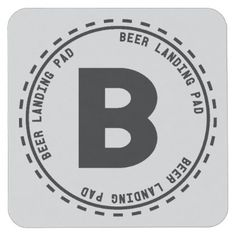 Beer Tasting Funny Beer Landing Square Paper Coaster - home gifts cool custom diy cyo