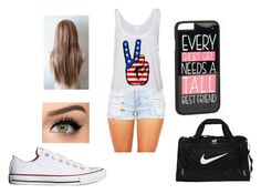 """""""Sleepover at the besties house"""" by veronicabrooks1 ❤ liked on Polyvore featuring Converse, NIKE and JFR"""