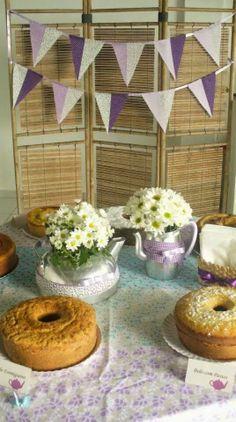 Ivanart Artes e Decorações: Decoração para chá para pais e alunos de uma escol...
