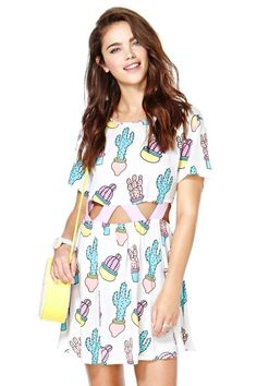 Lazy Oaf You Prick Dress