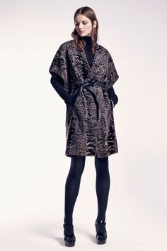 Swakara Lamb Fur Tunic