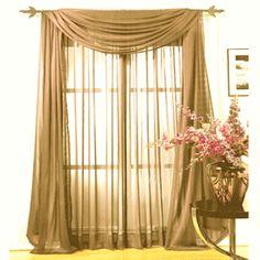 Chiffonade Sheer Curtain by Peri