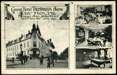 Sør-Trøndelag fylke TRONDHEIM, Grand Hotel. Montasjekort med småbilder  Utg J& Co postg. 1910,