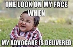 The joy of AdvoCare delivery