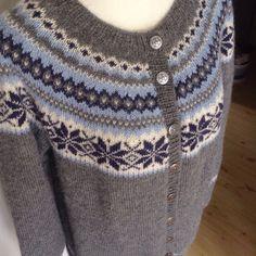 Nancy kofte Norwegian knitting