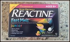 Seasonal Allergies Are Nothing To Sneeze At ~ REACTINE® FAST MELT (TM) Watery Eyes, Nasal Passages, Seasonal Allergies, Runny Nose, Health And Wellness, Seasons, Blog, House, Health Fitness