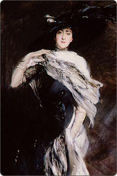 Mrs. George Washington Vanderbilt (Edith Stuyvesant Dresser Vanderbilt) by Giovanni Boldini, 1911
