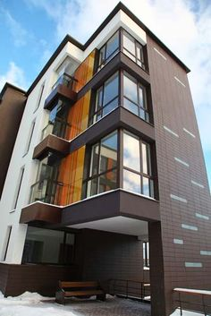 Residential Apartment Exterior Design Google Search Cladding Panels Guide Hunting