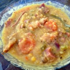 Canadian Yellow Split Pea Soup with Ham - Allrecipes.com