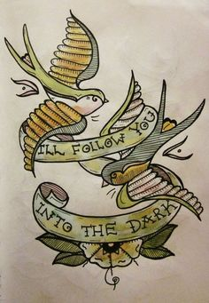 Honestly would make a cute tattoo design :)