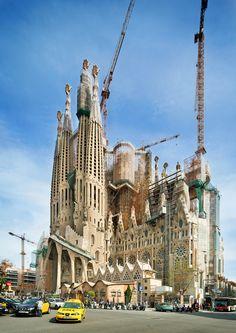 La Sagrada Familia   Barcelona,Catalonia   Antoni Gaudi  