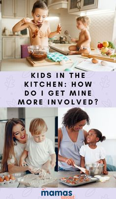 A mom writes in asking for advice about her she can get her two young kids involved in the kitchen so that they become better eaters overall.