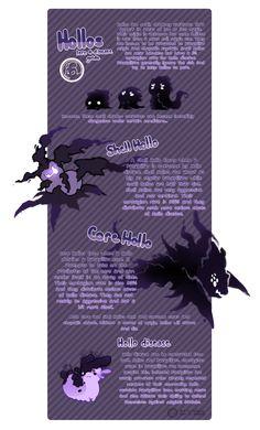 Pacapillars - Hollo Guide by toripng.deviantart.com on @DeviantArt