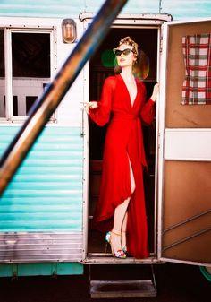 """""""Movie Star"""" Bella Heathcote by Ellen von Unwerth for Vs. Magazine 2016"""