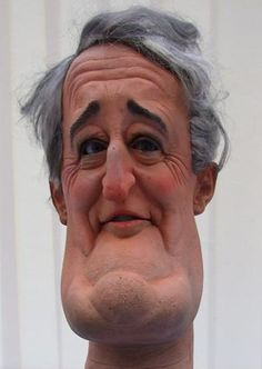 Brian Mulroney was the Prime Minister of Canada from September 17, 1984 to June 25, 1993. Here is a photo of a Spitting Image Puppet of him.