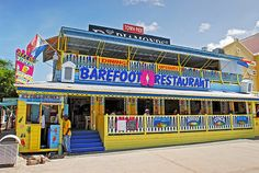 Barefoot Restaurant - Phillipsburg St.Maarten. Mom and I like to eat breakfast here!